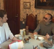 Встреча Фролова Ю.А. С Игорем Бороздовым. Душ Алексеева — уникальный массажёр и регенератор кожи.