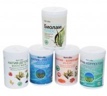 Продукты лечебно-профилактического питания на основе водорослей семейства Фукусовых