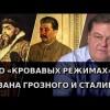 О «кровавых режимах» Ивана Грозного и Сталина. Евгений Спицын