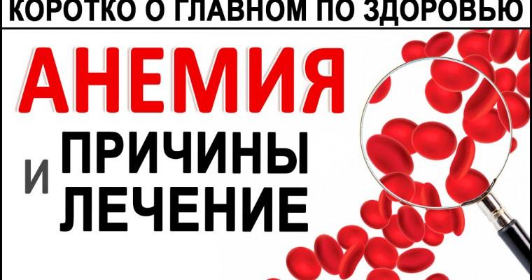 АНЕМИЯ. Как лечить анемии и не допустить их вновь? Железо, В12, Глисты, Гемоглобин и пр.